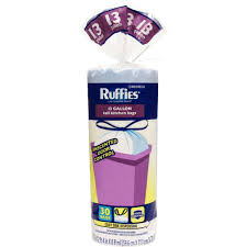 Christmas Tree Trash Bags Walmart by Ruffies Extra Large Trash Bags Clear 33 Gallon 50 Ct Walmart Com