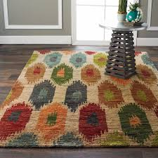 Green Jute Rug by Multi Color Painted Diamonds Jute Rug Shades Of Light