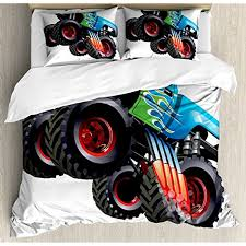 Cars Queen Size Duvet Cover Set By Ambesonne, Cartoon Monster Truck ... Bedding Rare Toddler Truck Images Design Set Boy Amazing Fire Toddlerding Piece Monster For 94 Imposing Amazoncom Blaze Boys Childrens Official And The Machines Australia Best Resource Sets Bedroom Bunk Bed Firetruck Jam Trucks Full Comforter Sheets Throw Picturesque Marvel Avengers Shield Supheroes Twin Wall Decor Party Pc Trains Air Planes Cstruction Shocking Posters About On Pinterest Giant Breathtaking Tolerdding Pictures Ipirations