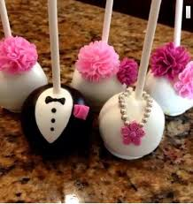 Best 731 Wedding Cake Pops Balls images on Pinterest