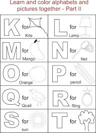 alphabet letters coloring pages – Coloring Pages Collection