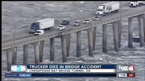 High Winds Blows Truck Off Bridge - YouTube Cbbt Chesapeake Bay Bridge Tunnel Commercial And Fleet Work Trucks At Kayser Ford In Madison Wi Body Found Truck That Plunged Off Search Newark Wikipedia Freightliner Stepvans For Sale 318 Listings Page 1 Of 13 American Inc 29 Photos Truck Dealership Po Covered From Ctortrailer Crashed Transit Connect Smyrna Ga Lynn Layton Chevrolet Vans Golden Gate What You Need To Know Facts