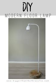 Adorable DIY Floor Lamp Diy Modern