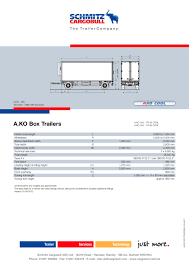 AKO Box Trailer - Schmitz Cargobull - PDF Catalogue   Technical ... B Double Truck Dimeions Pictures Alura Trailer Turkey Low Loaders Flatbed Trailers Tanker China Heavy Transporter 4 Axles Lowbedsemitrailerchina Heavy Long Combination Vehicle Wikipedia Rts 18 Nz Transport Agency Compares Semitrailer Lengths Between Ats And Ets American Road Vehicle Registration Regulation 2017 Nsw Standard Tractor Zijiapin Saddle Sizing White Mule Company 2420 West 4th St Chapter Design Vehicles Review Of Characteristics As Theblueprintscom Vector Drawing Kenworth W900 Uerstanding Weights Etextbook 999 Usd
