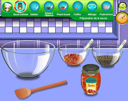 jeu cuisine jeux de cuisine