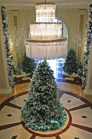Silver Tip Christmas Tree Los Angeles by 90 Best Lobby Christmas Trees Images On Pinterest Christmas Tree