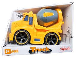 100 Kidds Trucks Kids Construction Toy Truck Friction Powered Trucks Cement Mixer