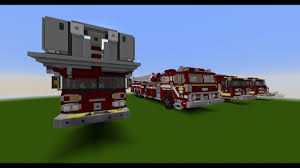 100 Fire Trucks On Youtube 99 Minecraft How To Make A Truck Minecraft Tutorial