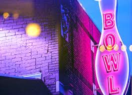 Charlotte Halloween Bar Crawl Epicenter by Bowl Neon Pin Sign Outside Web Jpg