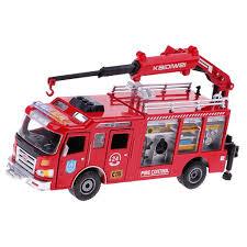 100 Fire Truck Kids 2019 150 Mini Engine Crane Car Rescue Vehicle Model