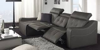 canapé 3 places relax electrique canape 3 places avec 2 relax electrique meuble et déco