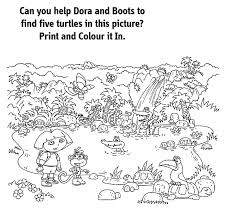 Nick Jr Coloring Pages 3
