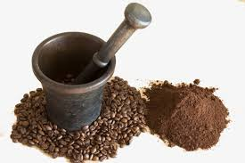 Mashed Beans Ground Coffee Powder Grind PNG Image And Clipart