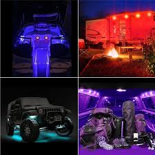 8X 48LED RGB LED Rock Light Under Body Truck Bed Lighting Lights ... Led Truck Bed Lightsderlson Lighting Kit Strip Lights Are Caps Partners With Rigid To Shine Bright Kc Hilites Prosport Series 6 20w Round Spot Beam Red Car Piranha Side Sign Light Trailer Blinker Interior Wireless Reading Roof Celling Best Choice Products 12v Kids Battery Powered Rc Remote Control Step Bar How To Install Truck Bed Led Light Kit Youtube Amazoncom Ledkingdomus 4x 27w 4 Pod Flood Ground The Radio Doctor Performance Ltd Sucool 2pcs One Pack Inch Square 48w Led Work Off Road