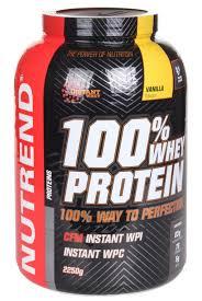 nutrend 100 whey protein vanilla 2250g