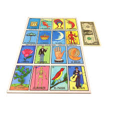 Tio Chentes Mexican Bingo Loteria Family Board Game