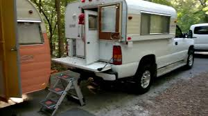 100 Alaskan Truck Camper Alaskan Camper Down YouTube