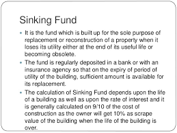 Sinking Fund Calculator Weekly by Chapter 13 Valuation