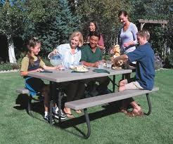 Lifetime Folding Picnic Table Assembly Instructions by Lifetime 22119 Lifetime 6 U0027 Folding Picnic Table On Sale Free