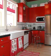Strawberry Kitchen Decoration With Wallpaper Above Cabinet And Other Related Images Gallery