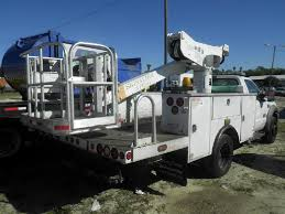 2006 FORD F550 SUPER DUTY BUCKET BOOM TRUCK FOR SALE #11236