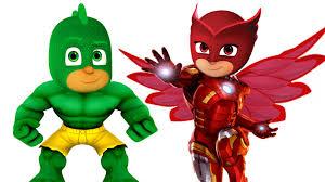 PJ Masks Hulk Iron Man Coloring Pages For Kids