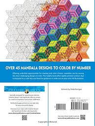 Creative Haven Mandalas Color By Number Coloring Book Adult Shala Kerrigan 0800759797974 Amazon Books
