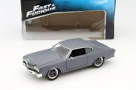 100 Fast And Furious Trucks Doms Chevrolet Chevelle SS And Matt 1 24 Toys Grey