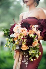 Red And Gold Spanish Wedding Ideas