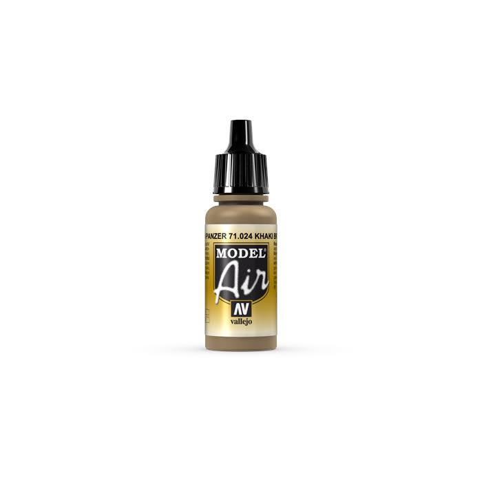 Vallejo Model Air 17ml - Khaki Brown 71024