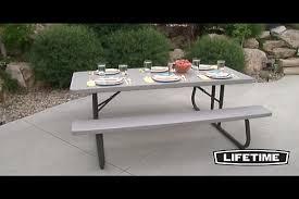 lifetime 6 folding picnic table best tables