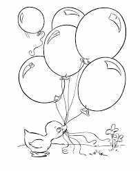 BlueBonkers Printable Easter Ducks Coloring Page Sheets