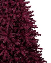 Flocked Real Christmas Trees by Cranberry Crush Christmas Tree Treetopia