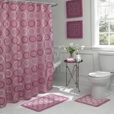 Pink Bathroom Sets Walmart by Bounce Comfort Terrell Geometric 15 Piece Bathroom Shower Set