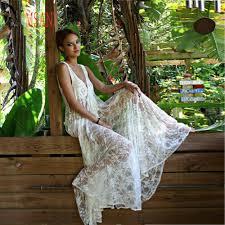 popular honeymoon lace white maxi dress buy cheap