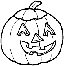 Halloween Pumpkin Coloring Sheet