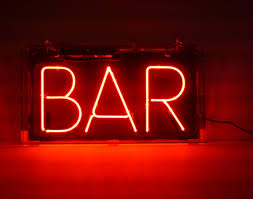 signs business stand led vs neon bar signs stunning buy