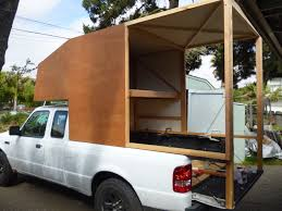 100 Build Your Own Truck Ranger Cab Over Camper Build Continues Ford Ranger Cabover Vacation