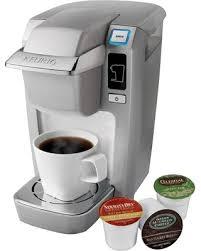 Keurig K15 Coffee Maker Platinum White