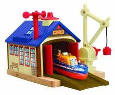 Thomas And Friends Tidmouth Sheds Wooden by Thomas U0026 Friends Wooden Railway Tidmouth Sheds Deluxe Set