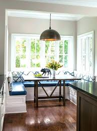 Built In Breakfast Nook Bench Seating Dining Room Transitional With