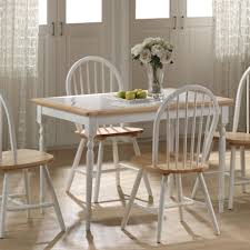 Tile Top Dining Room Set Condo Furniture 5pc Wood
