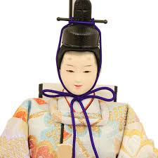 Kobotensho Hina Dolls Compact Case Ornament Case Imperial Prince