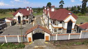 100 Maisonette Houses 5 Bedroom For SaleNanyuki Danco Limited