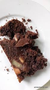 schokoladiger birnenkuchen mit espressonote cremig herb