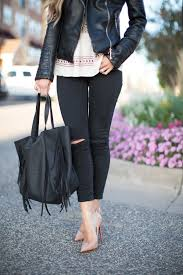 leather jacket u0026 skinny jeans mia mia mine