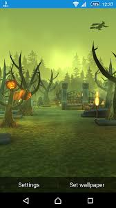 Halloween Live Wallpapers Android by Halloween Graveyard Live Wallpaper For Android