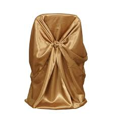Gold Universal Satin Chair Covers | Tablecloths Factory ... Chiavari Chairs Vs Chair Covers With Flair Gold Hug Cover Decor Dreams Blackgoldchampagne Satin Chair Covers Tie Back 2019 2018 New Arrival Wedding Decorations Vinatge Bridal Sash Chiffon Ribbon Simple Supplies From Chic_cheap Leatherette Quilted Fanfare Chameleon Jacket Medallion Decoration Package 61 80 People In S40 Chesterfield Stretch Spandex Folding Royal Marines Museum And Sashes Lizard Metallic Banquet Silver Outdoor