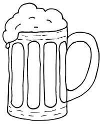 Related Cliparts Beer black and white clipart