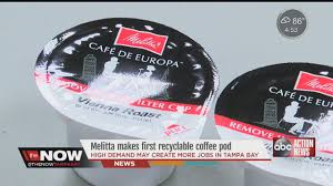 Melitta Makes First Recyclable Coffee Pod